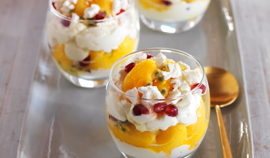 Passinfruit and Mango-Eaton-Mess