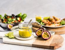 Passionfruit, Wasabi & Sesame Dressing